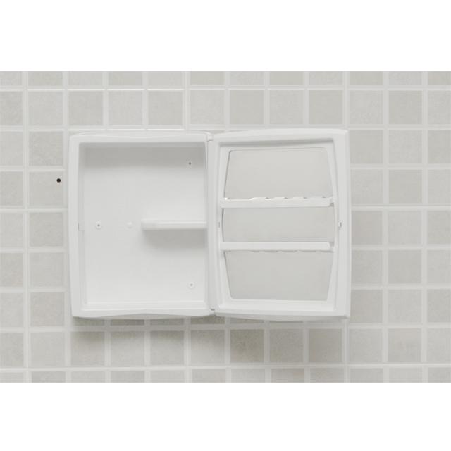 Armário para banheiro  A52  Grupo Astra -> Armario Banheiro Astra Aluminio