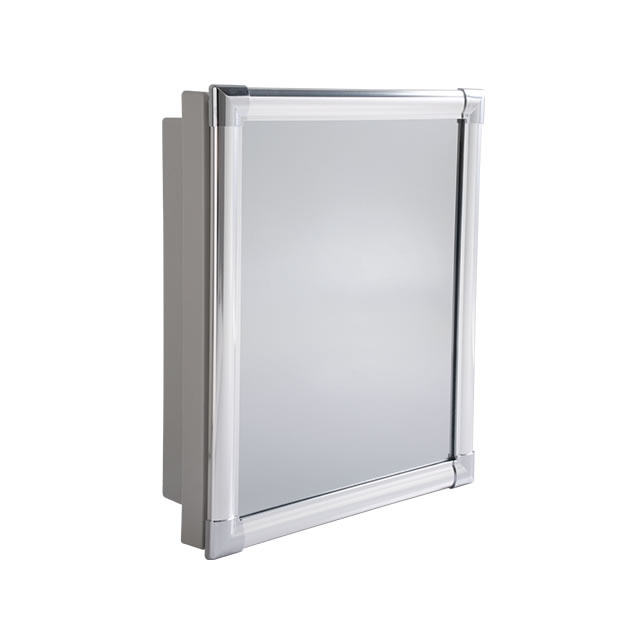 Armário para banheiro  AL41  Grupo Astra -> Armario Banheiro Astra Aluminio