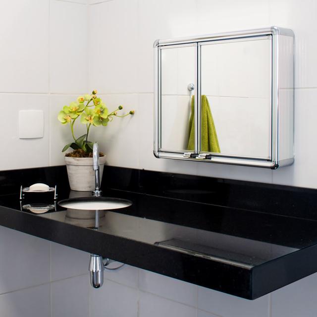 Armário para banheiro  LBP16S  Grupo Astra -> Armario De Banheiro Inox