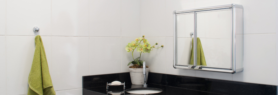 Armários para banheiro  Grupo Astra -> Armario Banheiro Aluminio Astra