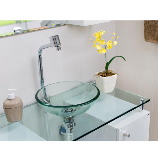 Cuba de vidro Quartzo Morion  CPQM  Grupo Astra -> Cuba De Vidro Para Banheiro Curitiba