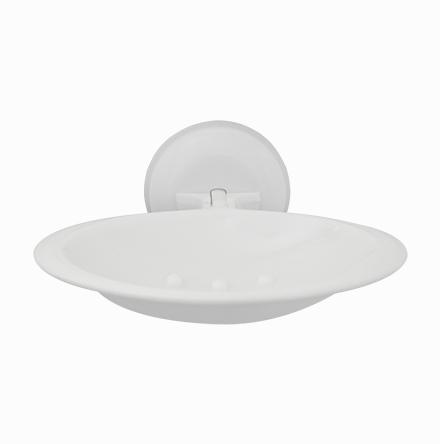Saboneteira Plástica com Ventosa