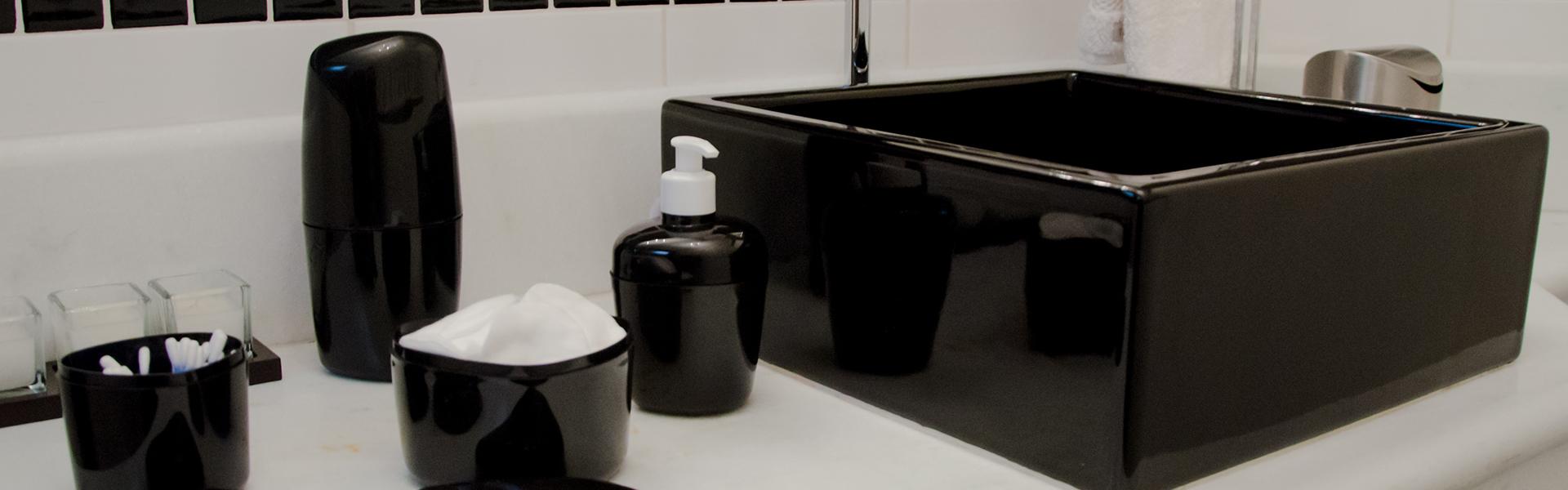 Banheiro - Porta-sabonete líquido