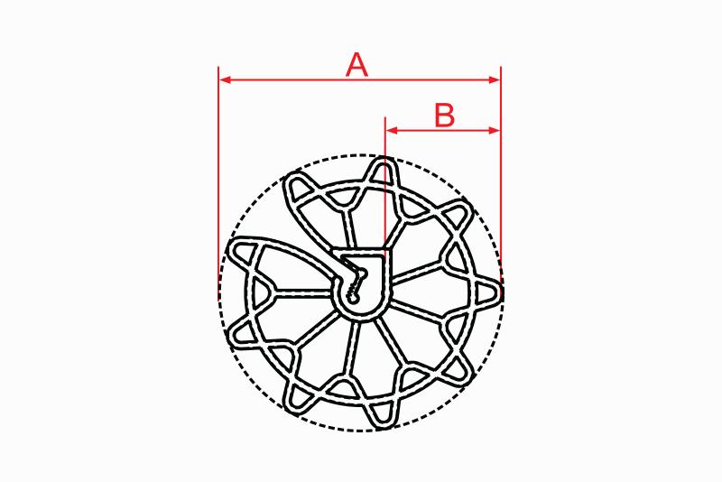 Distanciador Circular Universal