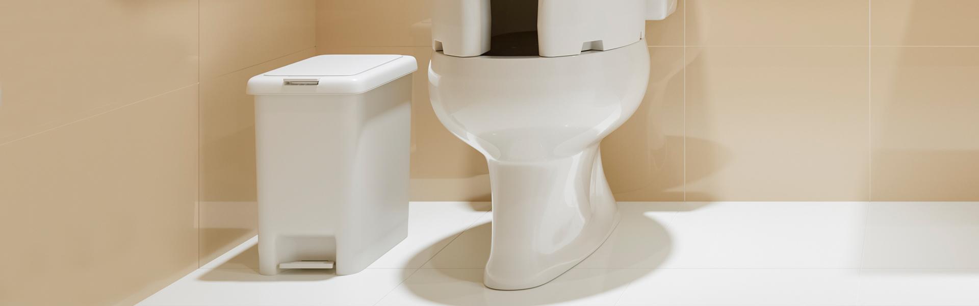 Banheiro - Lixeiras