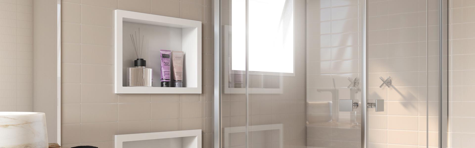 Banheiro - Nichos de Embutir