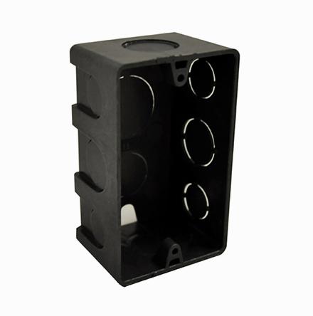 Caixa Elétrica 4 x 2 preta