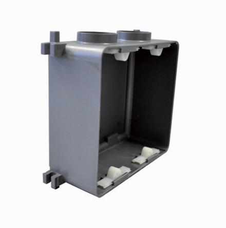 Corpo para caixa elétrica para parede de concreto