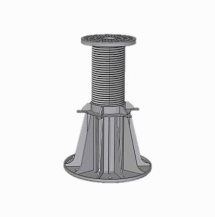 Pedestal de 19 a 33 cm