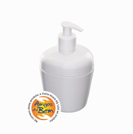 Porta-Sabonete Líquido de Plástico