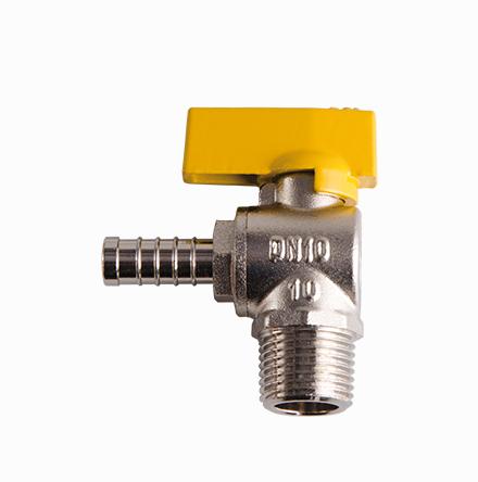 Válvula 90° Rosca Macho Espigão