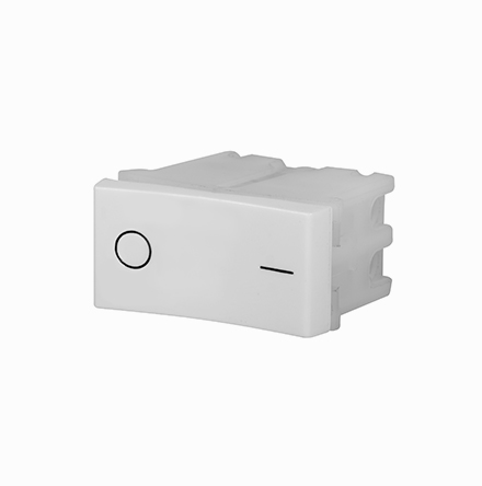 Interruptor de 2 Polos Simple 10A/250V