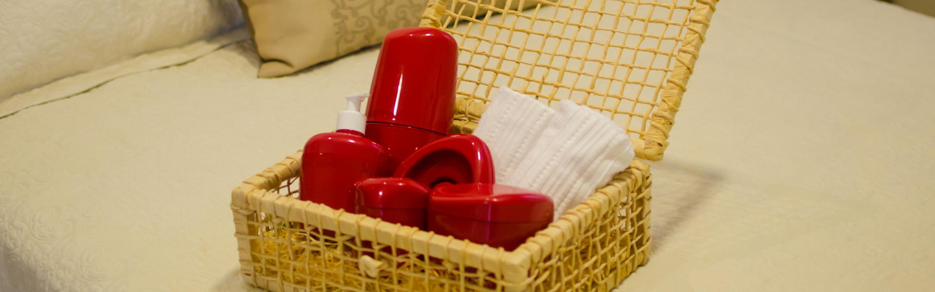 Banheiro - Kit de acessórios