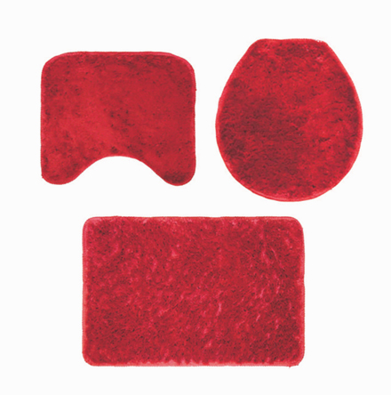 Kit de tapetes de Tecido (Stilo) - 3 peças