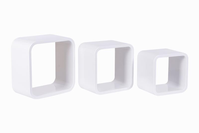 Nichos Quadrados Plásticos